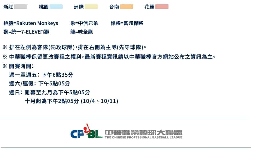 CPBL例行賽